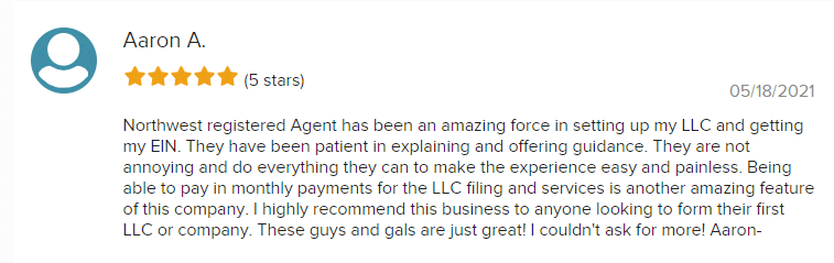 Aaron northwest bbb review