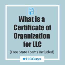 What-is-an-Certificate-of-Organization