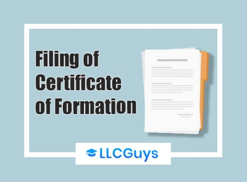 Filing-of-Certificate-of-formation